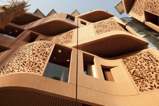 Masdar Institute. Image © Nigel Young / Foster + Partners