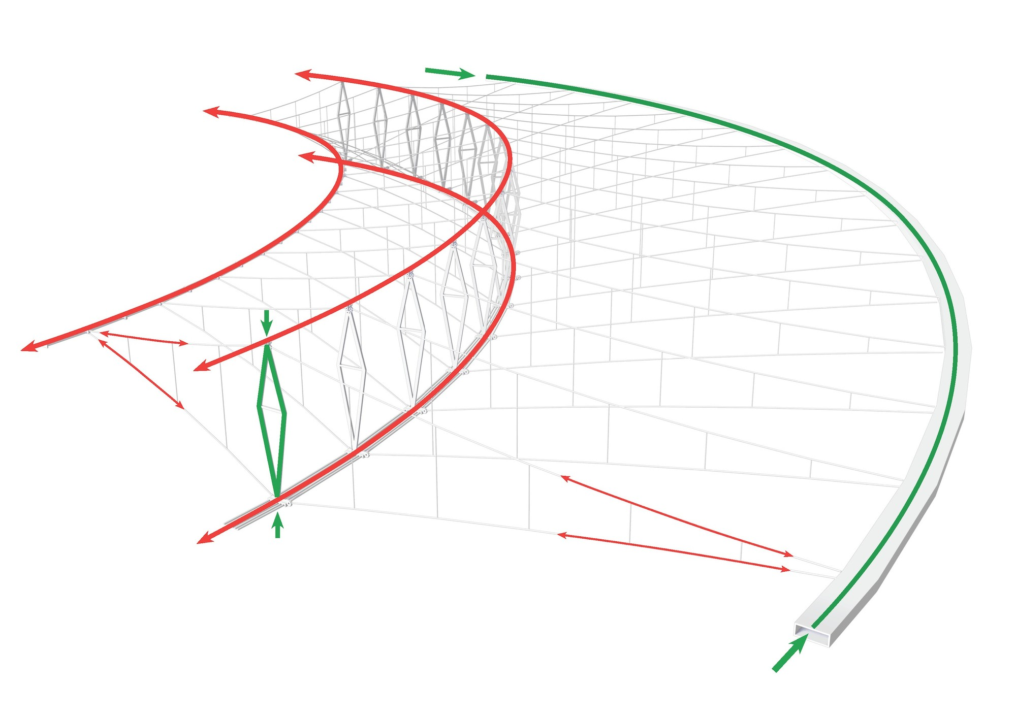 roof structure diagram sure power battery isolator wiring maracanã stadium schlaich bergermann und