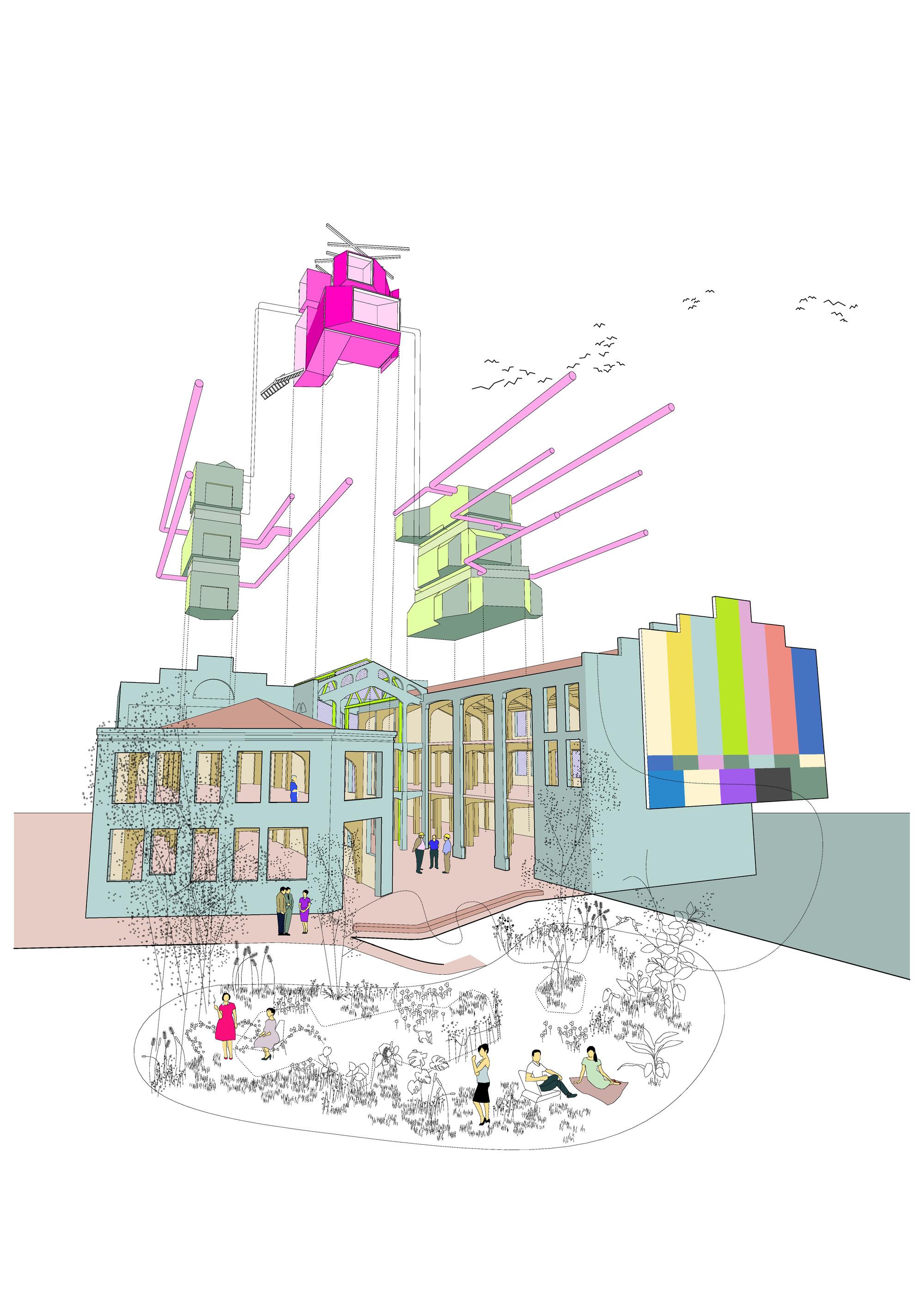 lab tree diagram guitar wiring diagrams 3 pickups gallery of medialab prado langarita navarro arquitectos 7