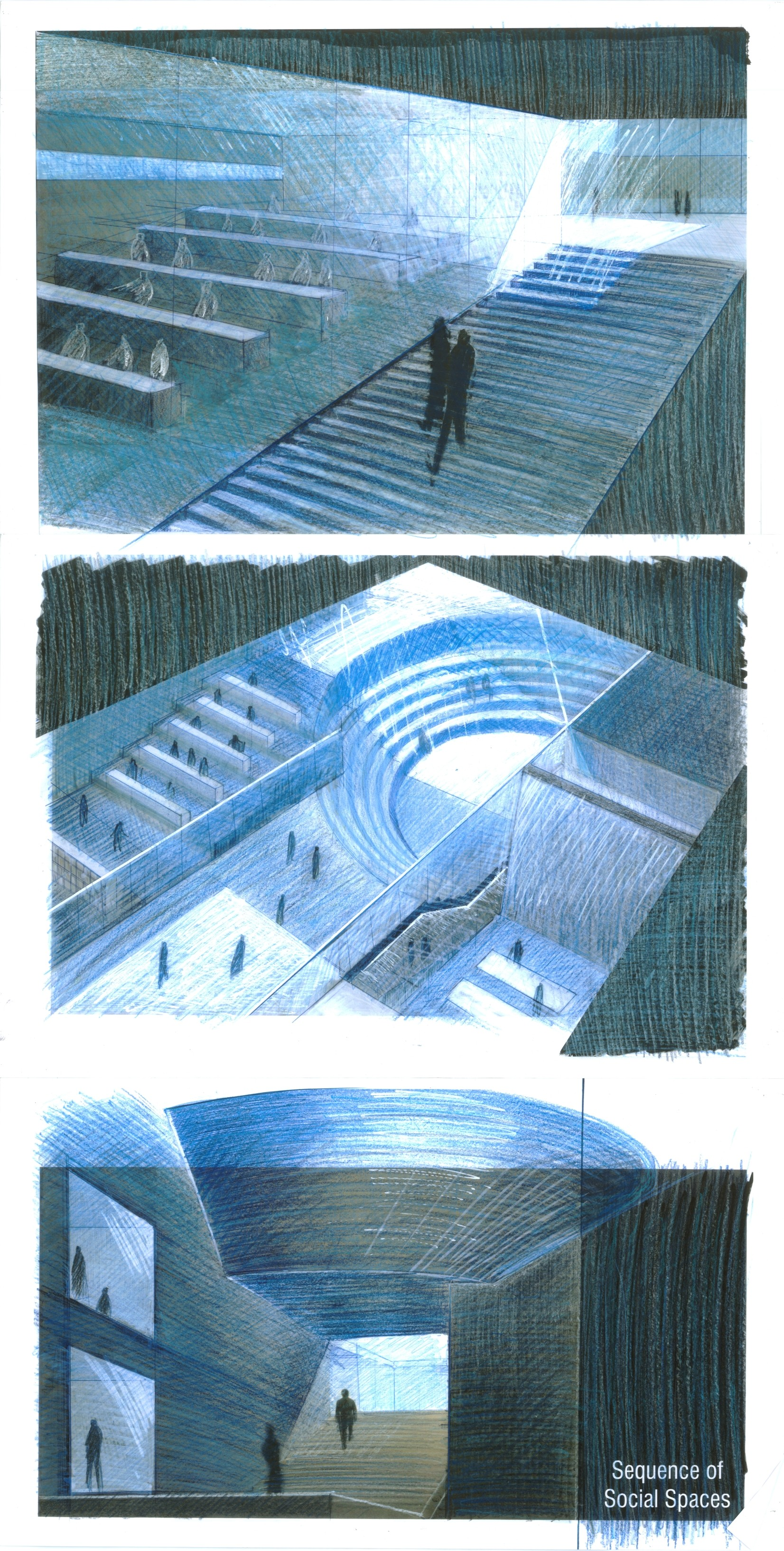 Galera De Tadao Ando Y El Centro Roberto Garza Sada De