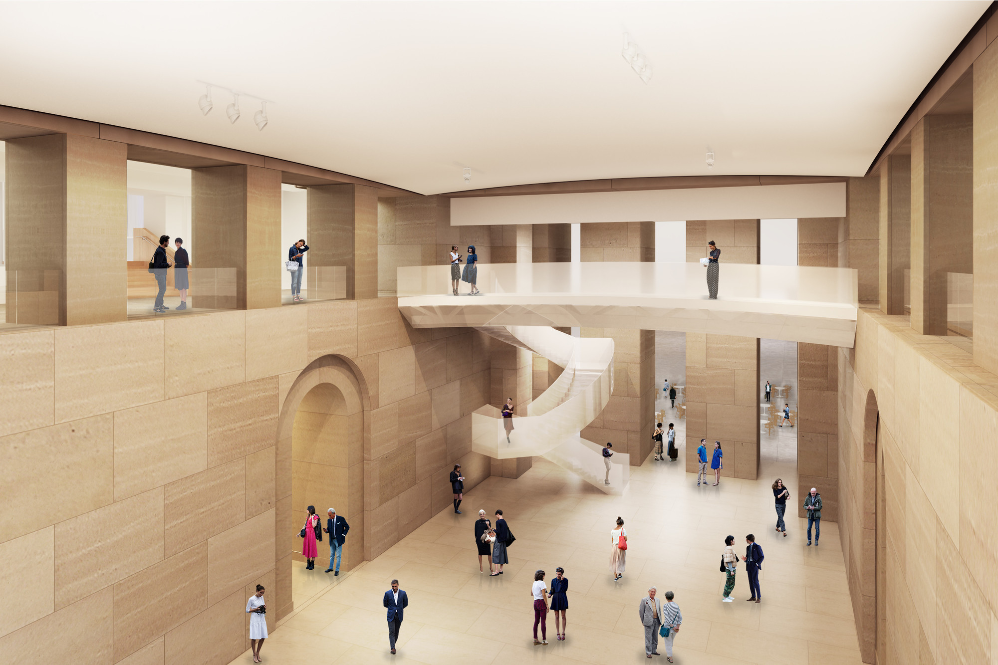 Gehry Unveils Design Extend Philadelphia Art