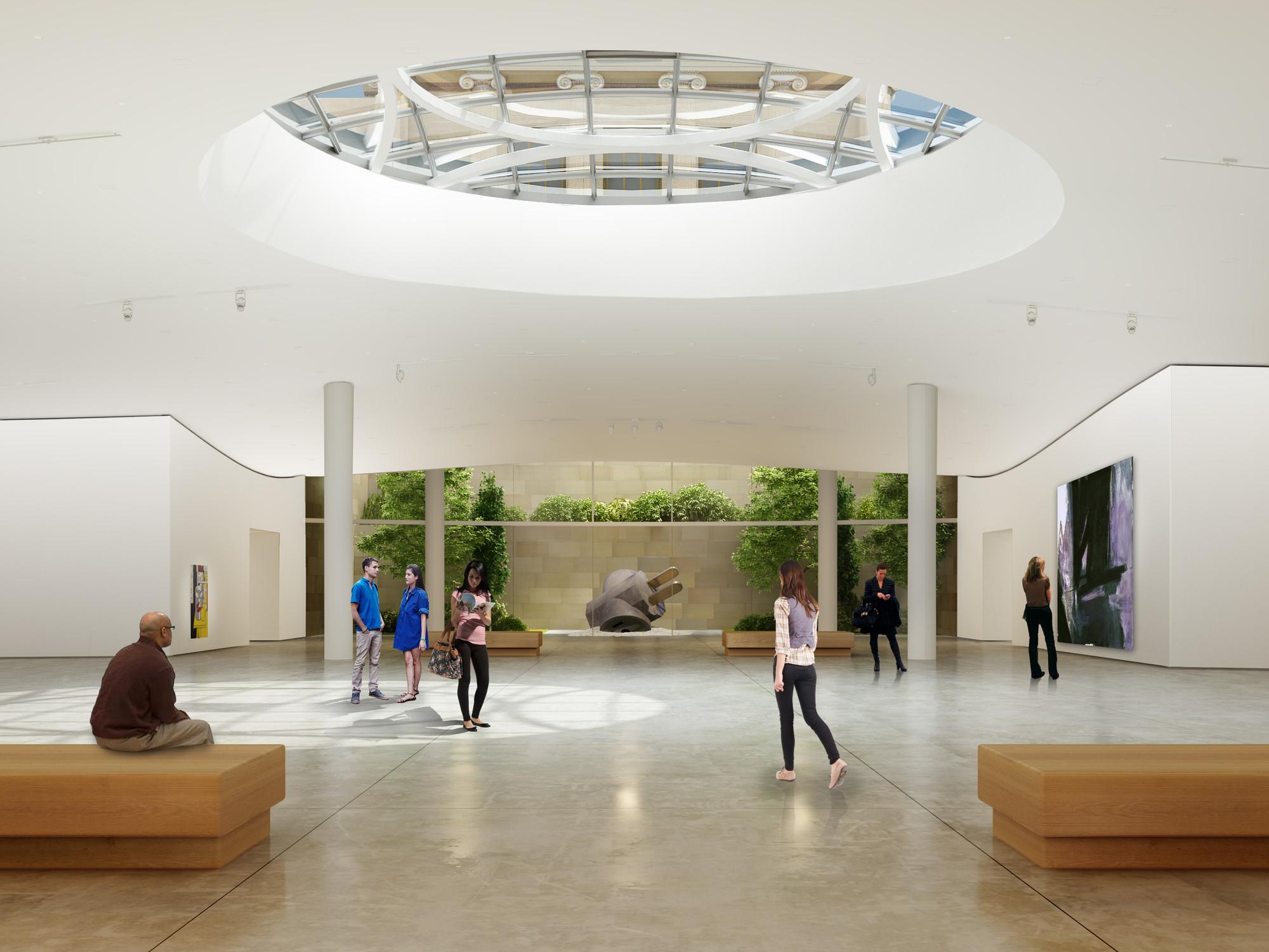 Gehry Unveils Design Extend