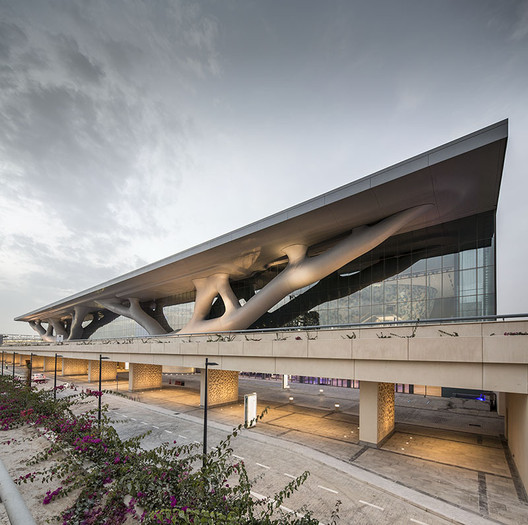 Qatar National Convention Centre. Image © Nelson Garrido