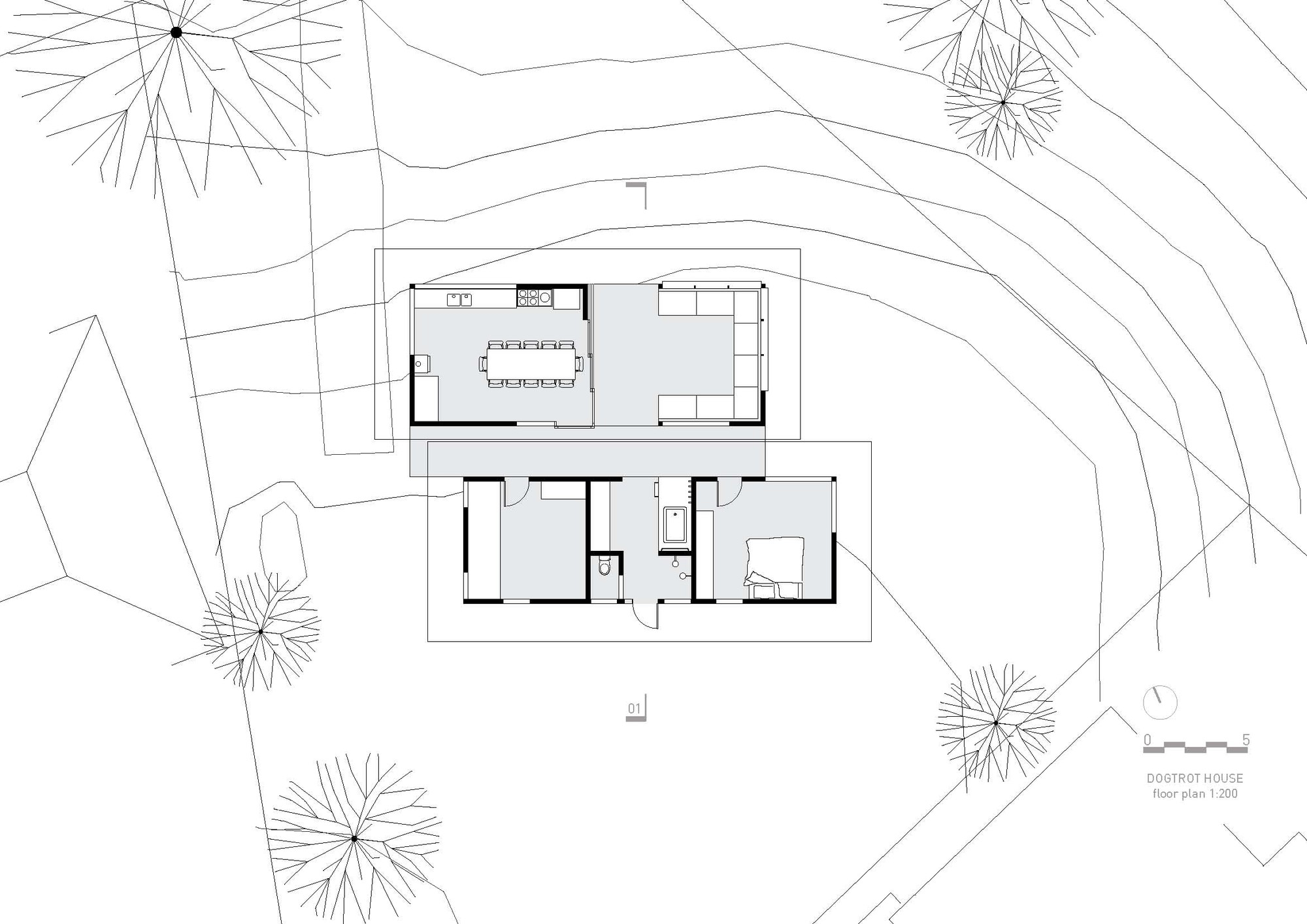 Gallery Of The Dogtrot House Dunn Hillam Architects 15