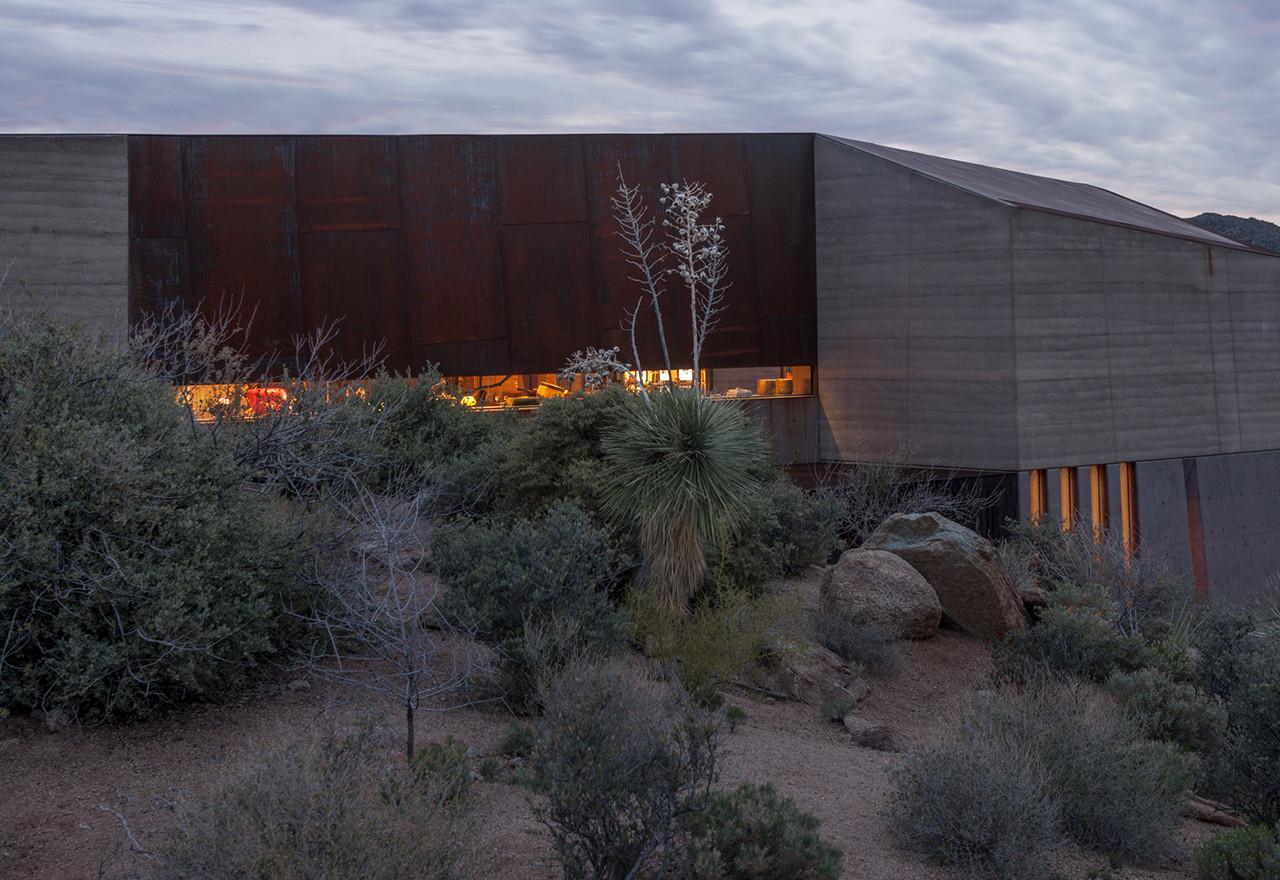 Gallery of Desert Courtyard House  Wendell Burnette