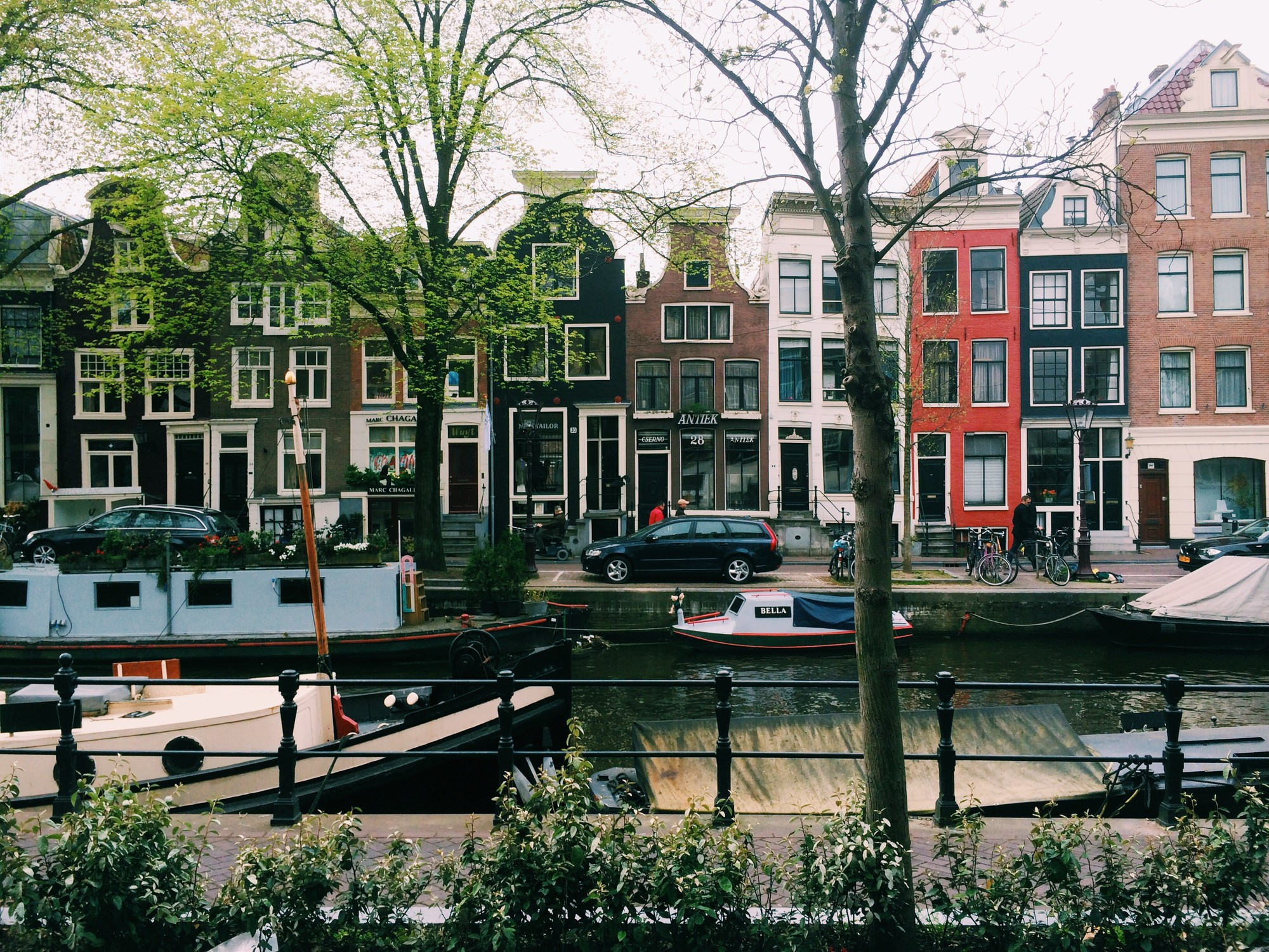 Dirty Picture of Amsterdam Canal