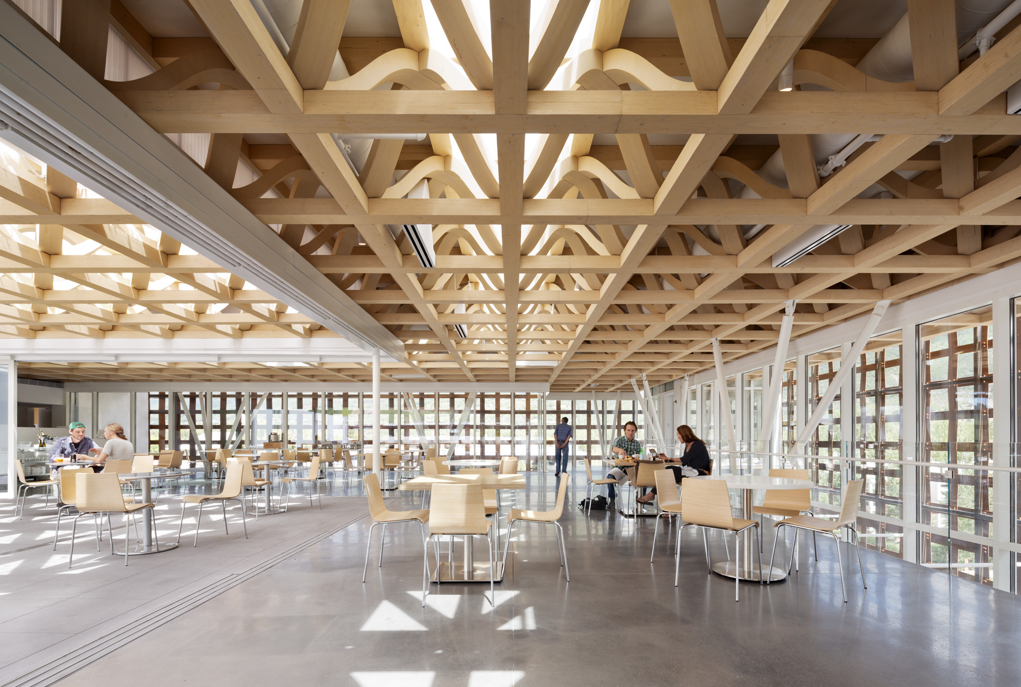 Aspen Art Museum Shigeru Ban Architects Archdaily