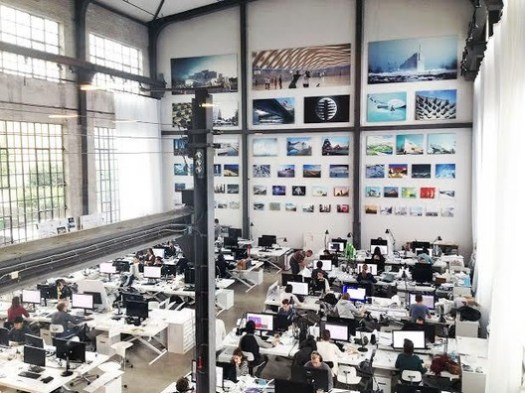 The Offices of BIG. Image © © BIG-Bjarke Ingels Group