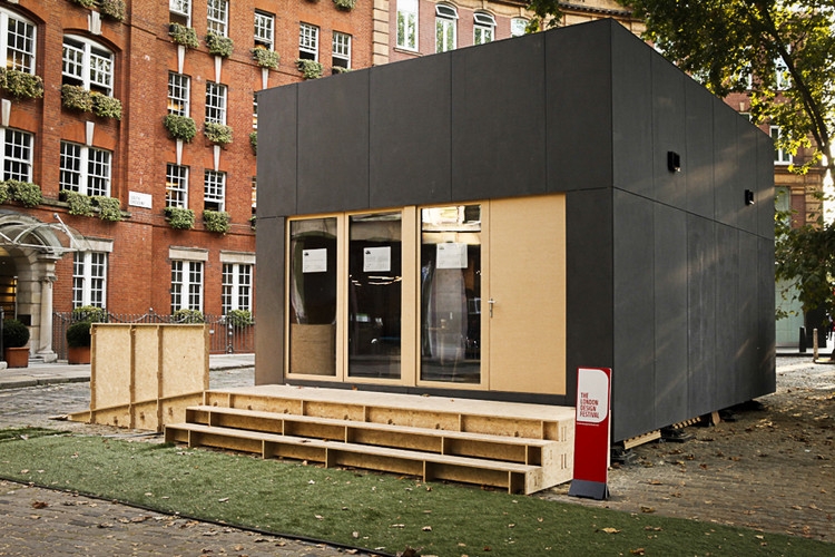 WikiHouse Unveils World's First Two Storey Open Source House At