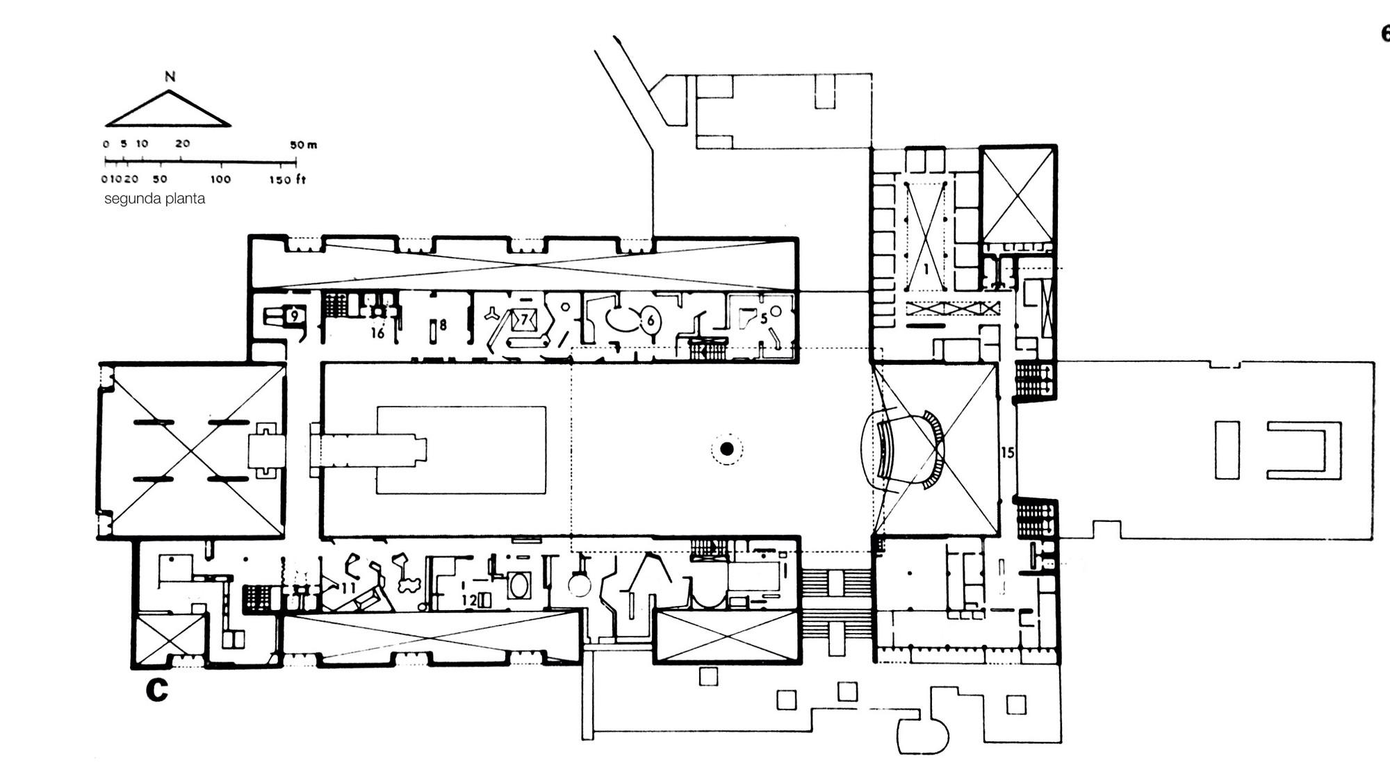 Galera de Clsicos de Arquitectura Museo de Antropologa