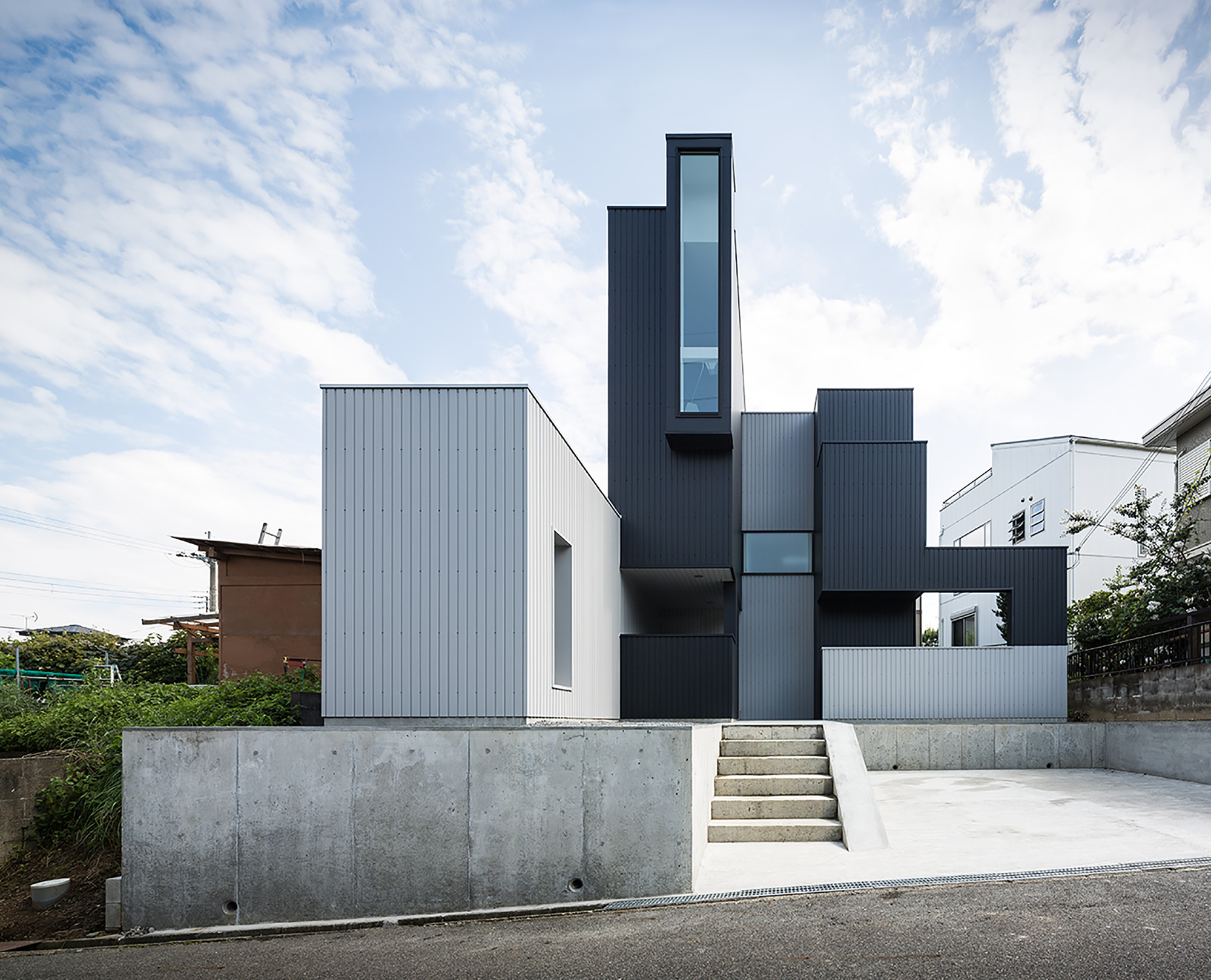 Scape House  Form  Kouichi Kimura Architects Archdaily
