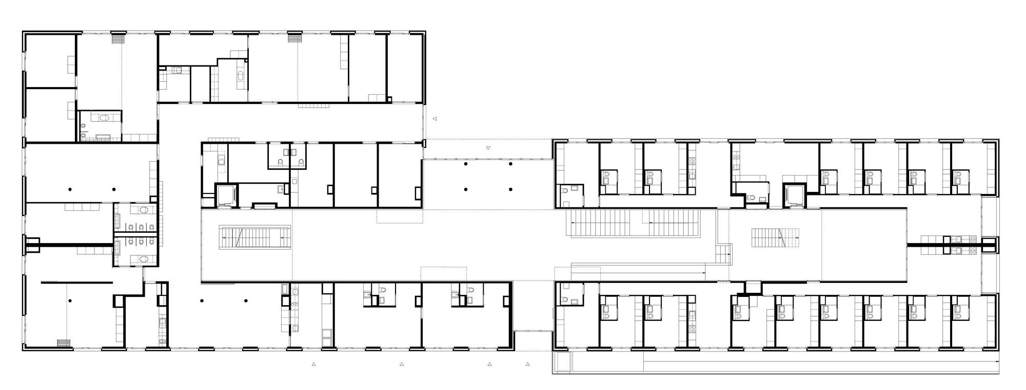 student housing floor plans