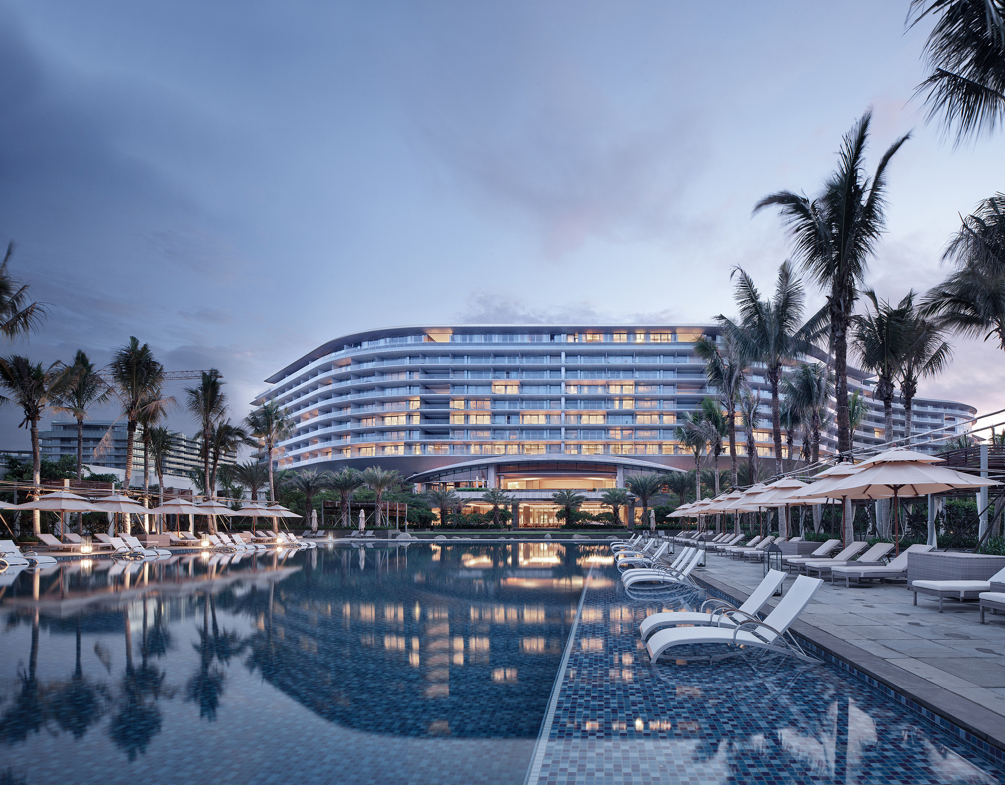 Westin Hotel Blue Bay Resort Hainan Architecture