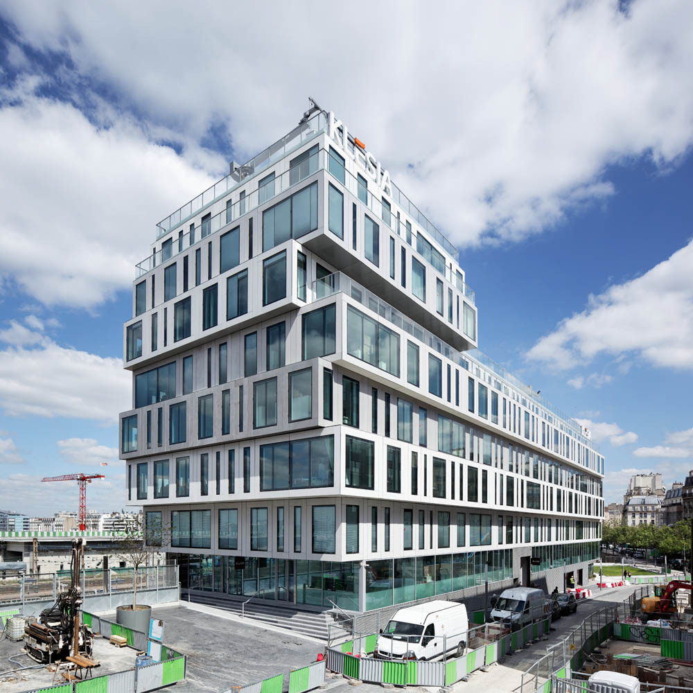 Strato Office Block Hardel Et Le Bihan Architectes