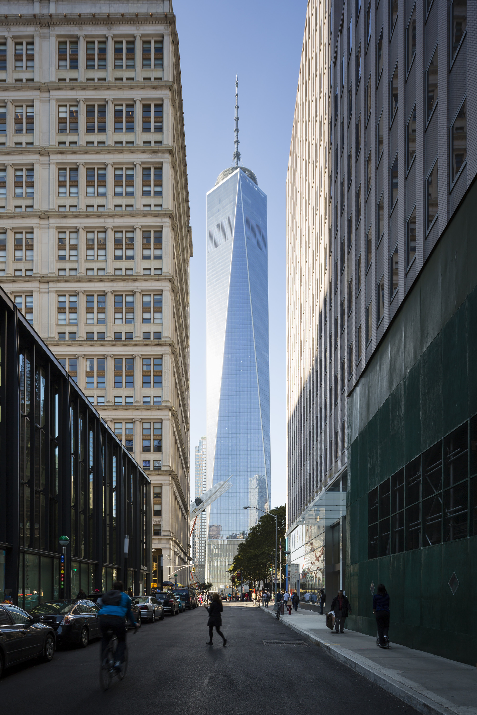 Som' Completed World Trade Center In