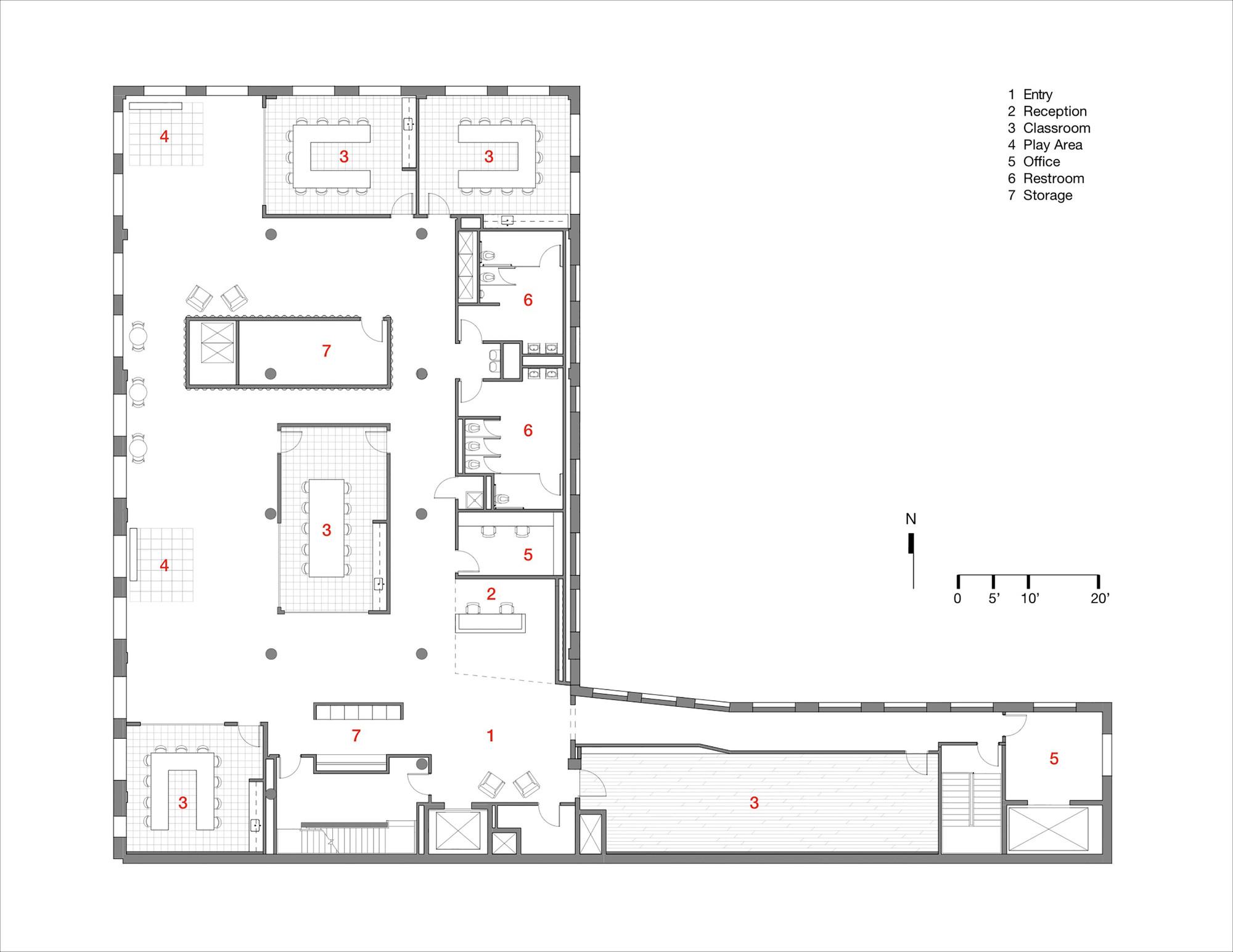Science Research Floor Plan