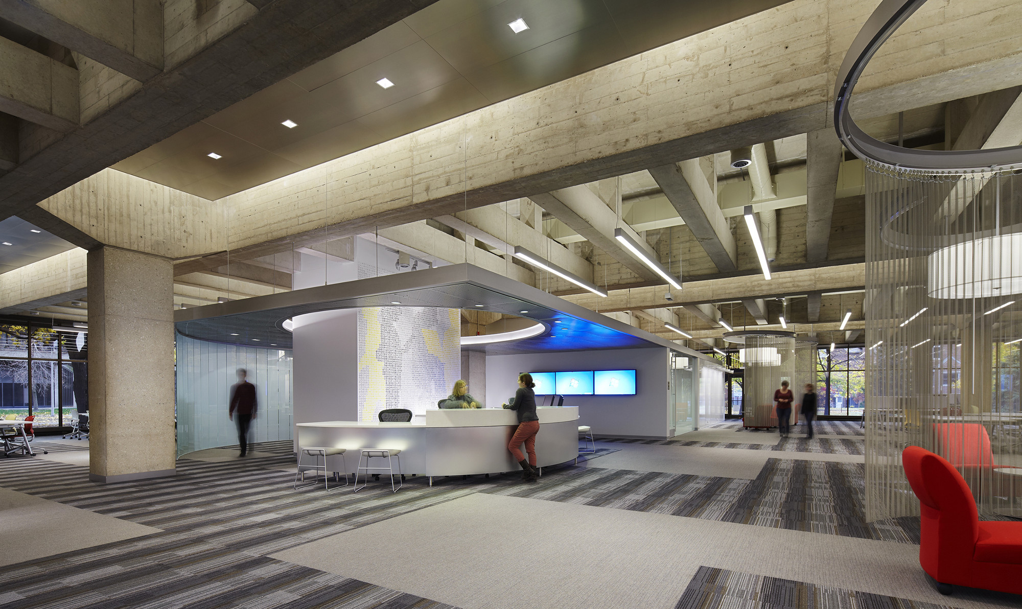 University Of Illinois Chicago Daley Library Idea