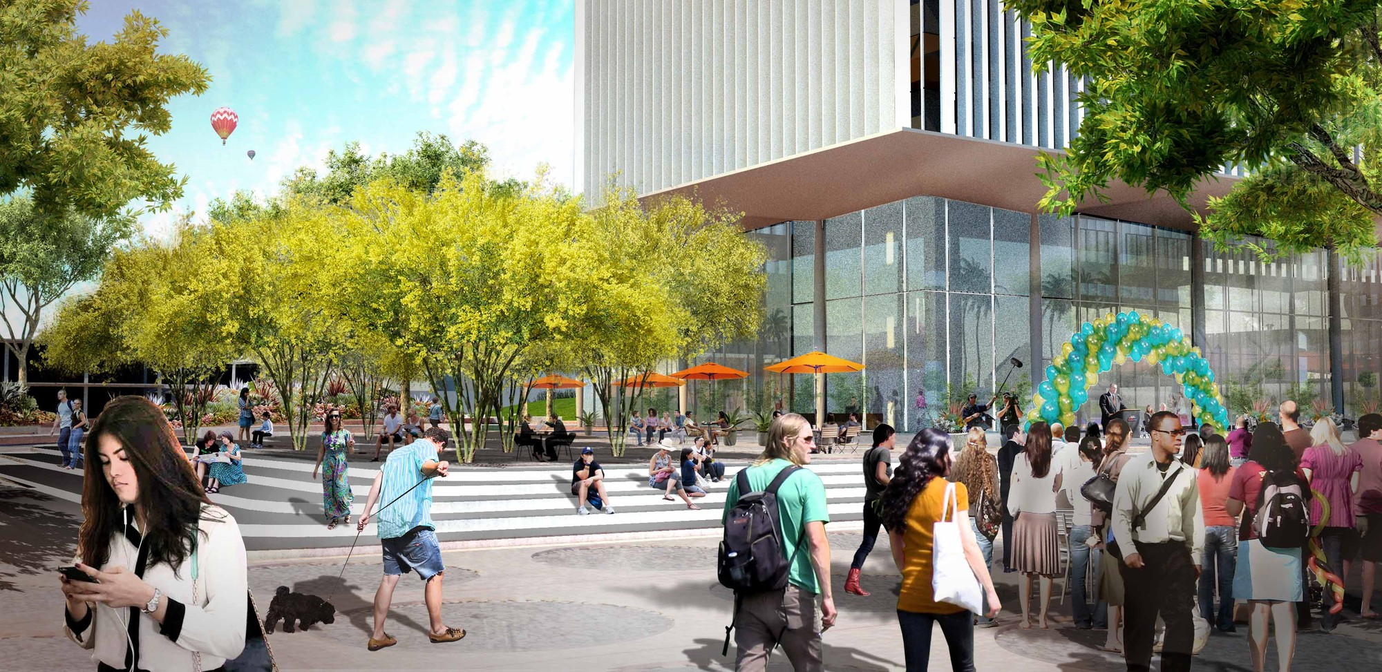 Weddle Gilmore West 8 and Colwell Shelor Selected to Redesign Arizonas Mesa City Center  ArchDaily