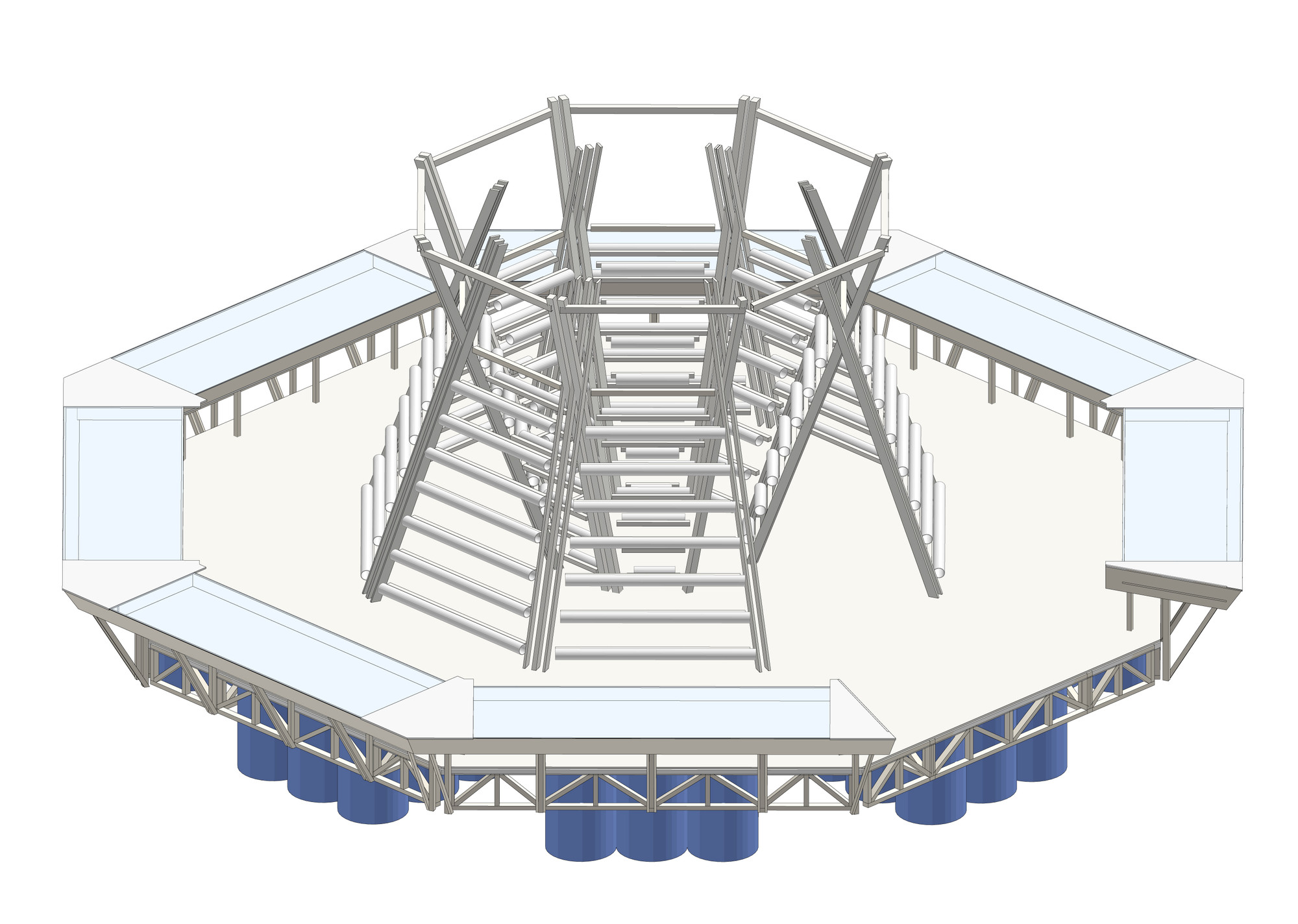 medium resolution of  jellyfish barge provides sustainable source of food and water construction diagram step