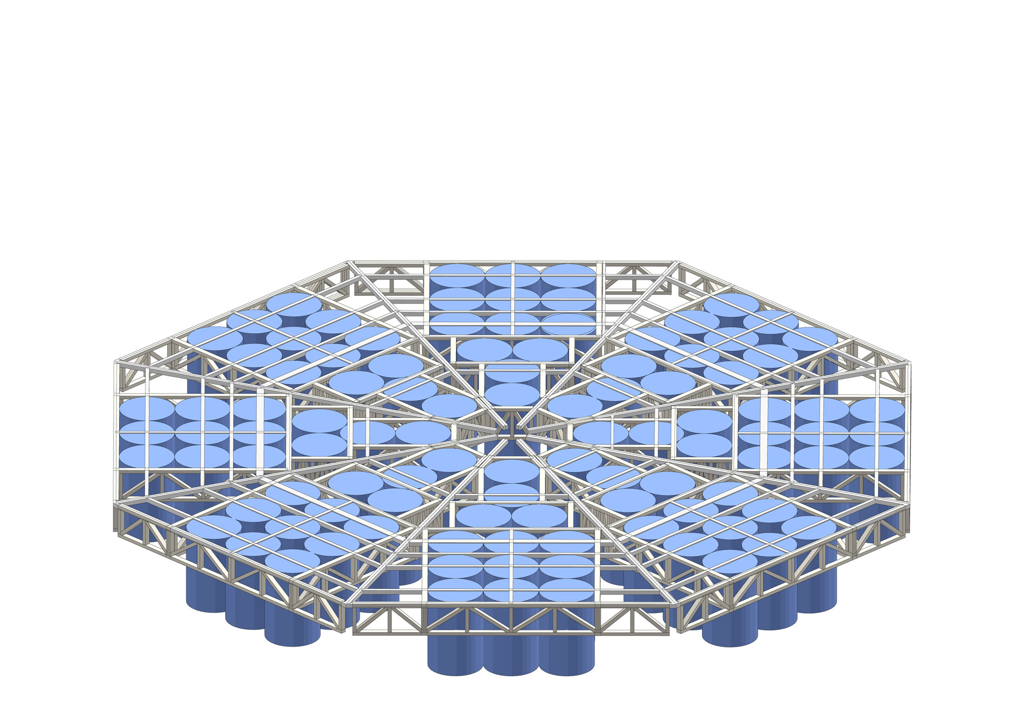 hight resolution of  jellyfish barge provides sustainable source of food and water construction diagram step