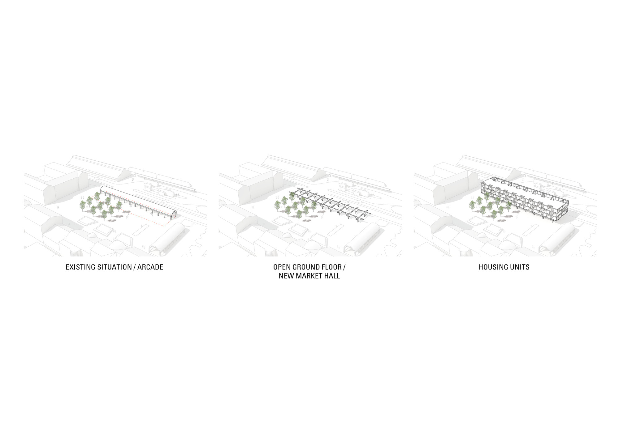 raid 5 concept with diagram dodge neon radio wiring jaja wins second prize for swedish housing and market hall
