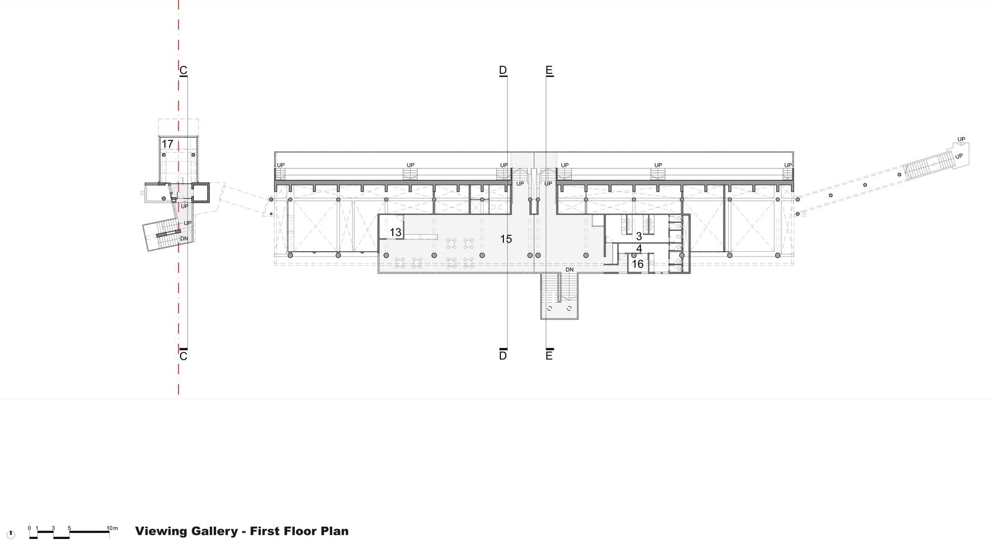 army rowing node floor plan [ 2000 x 1098 Pixel ]