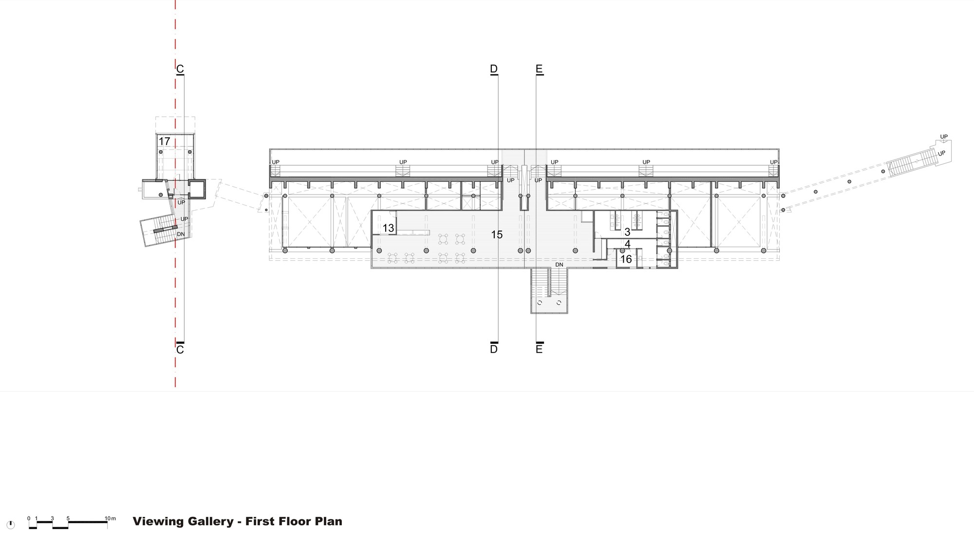 hight resolution of army rowing node floor plan
