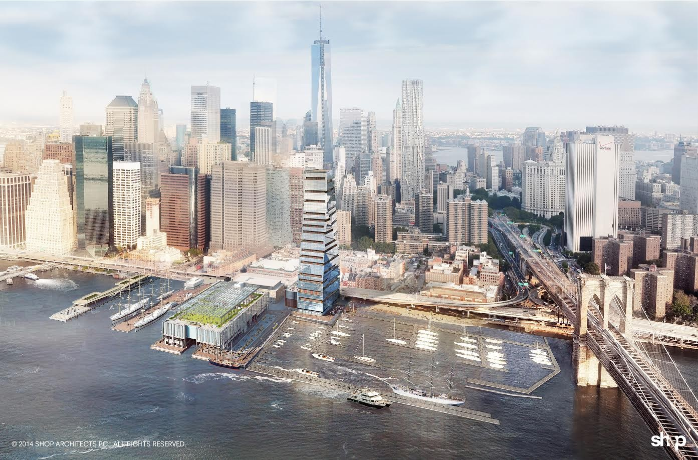 SHoP Architects Reveal Restoration Plan for New York's Seaport District | ArchDaily