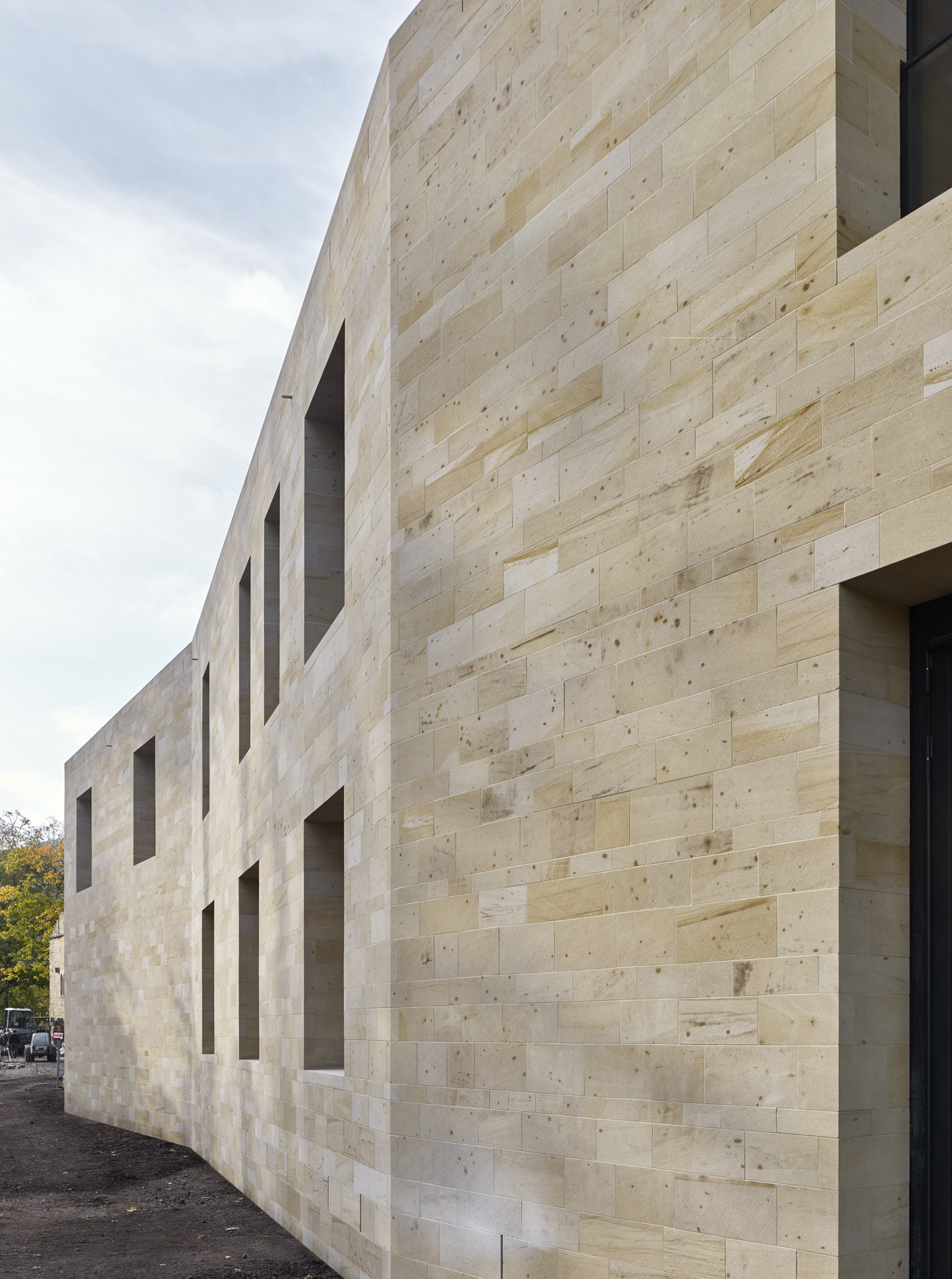 Gallery of Hambach Castle Entrance Building  Max Dudler  4