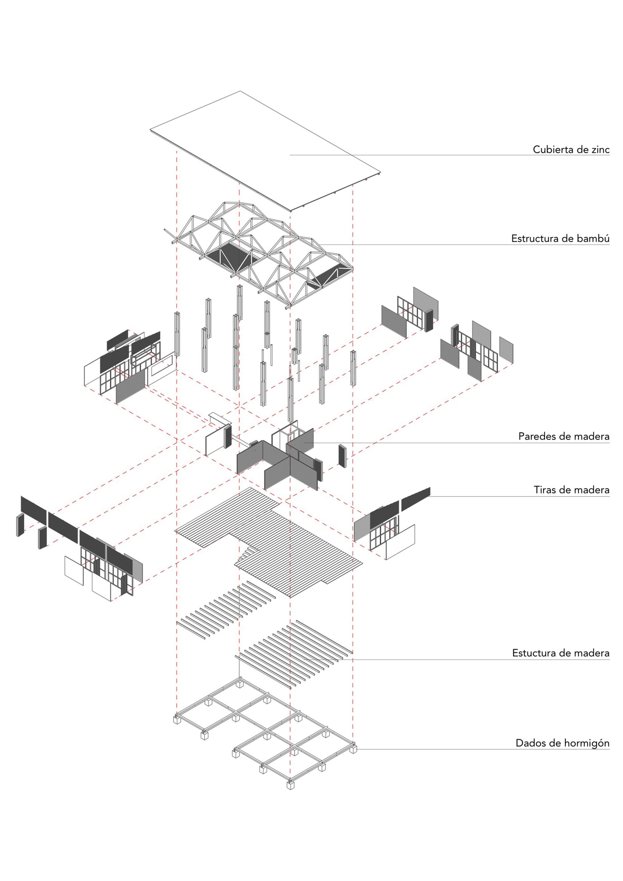 simple exploded view diagram ecm wiring gallery of convento house enrique mora alvarado 18