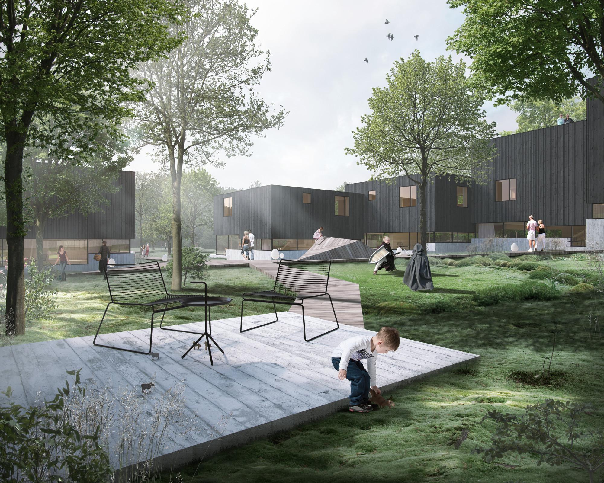 Friis & Moltke Design Housing Complex