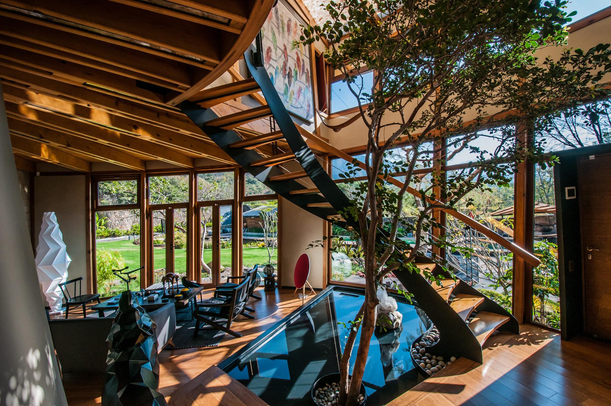 Casa Lobo  LANABE Laboratorio nmada de diseo espacial  Plataforma Arquitectura