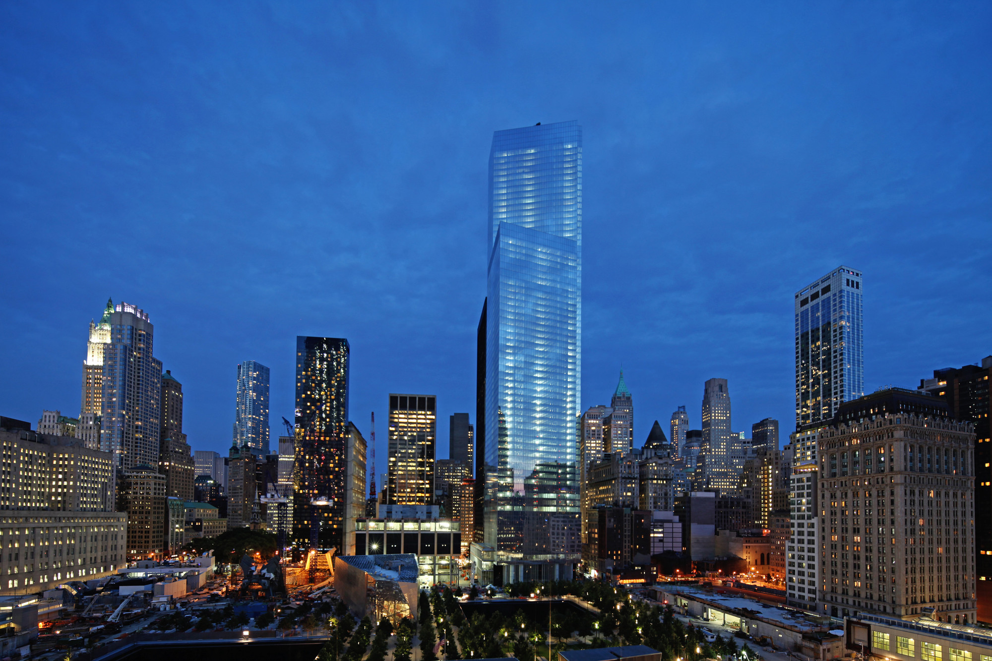 Buildings Join World' 100 Tallest