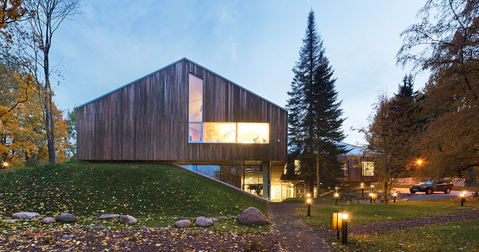 Tartu Nature House Karisma Architects Archdaily