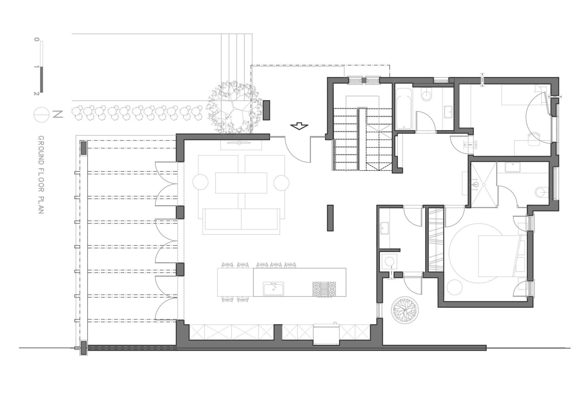 Una Moderna Casa en un Kibbutz  Henkin Shavit