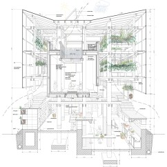 Grow Room Designs With Pictures And Diagram 2003 Nissan Altima Wiring Nest We / College Of Environmental Design Uc Berkeley + Kengo Kuma & Associates | Archdaily