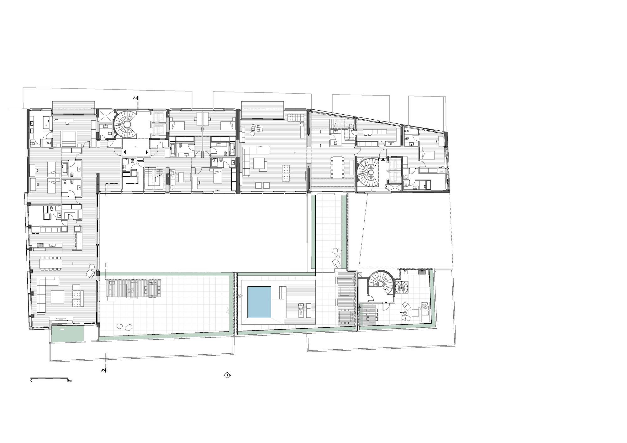 Gallery Of Conversion Of Doxiadis Office Building-ATI To