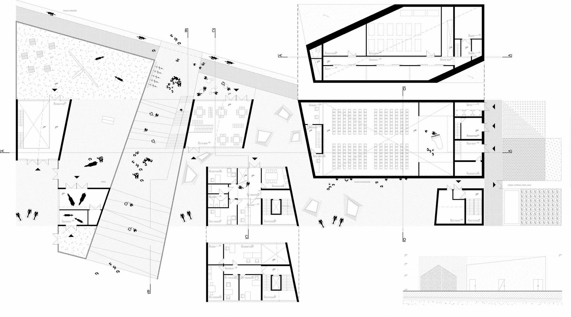 hight resolution of sluzewski culture centre wwaa 307kilo