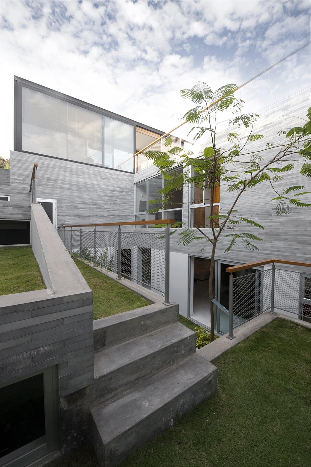 Casa del Jardn Espiral  511 arquitectos  Plataforma