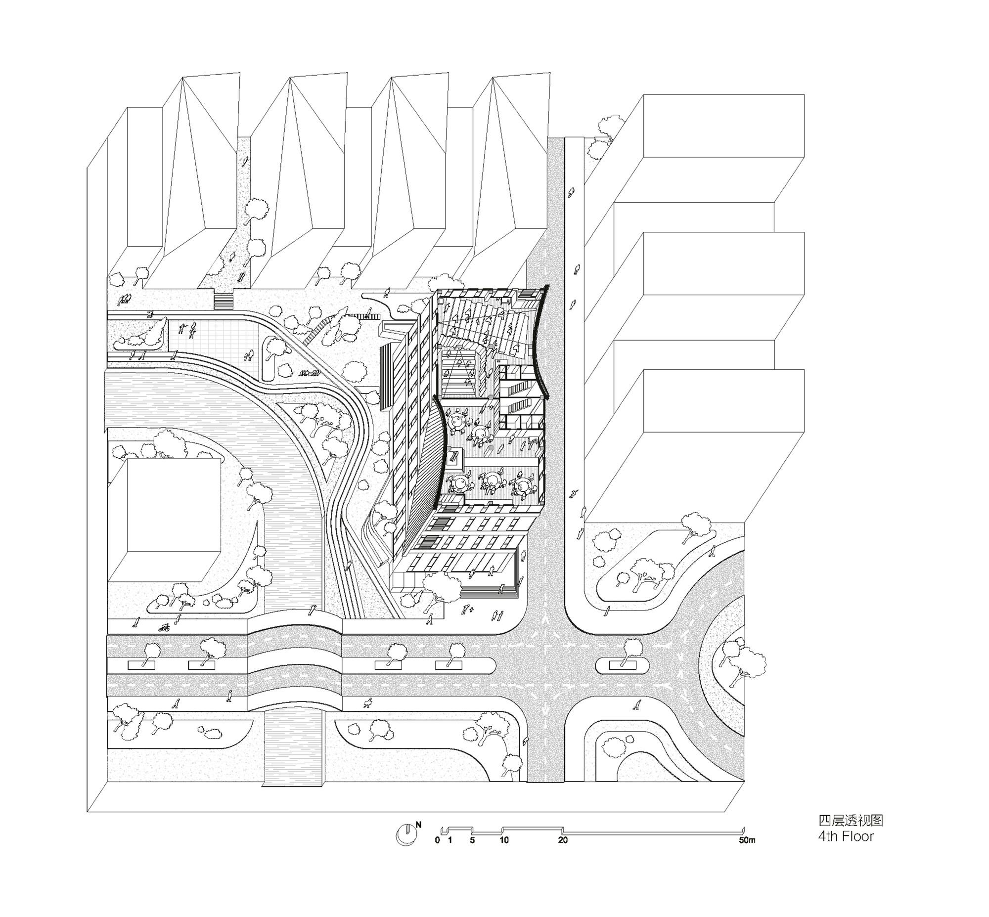 fourth floor plan [ 2000 x 1855 Pixel ]