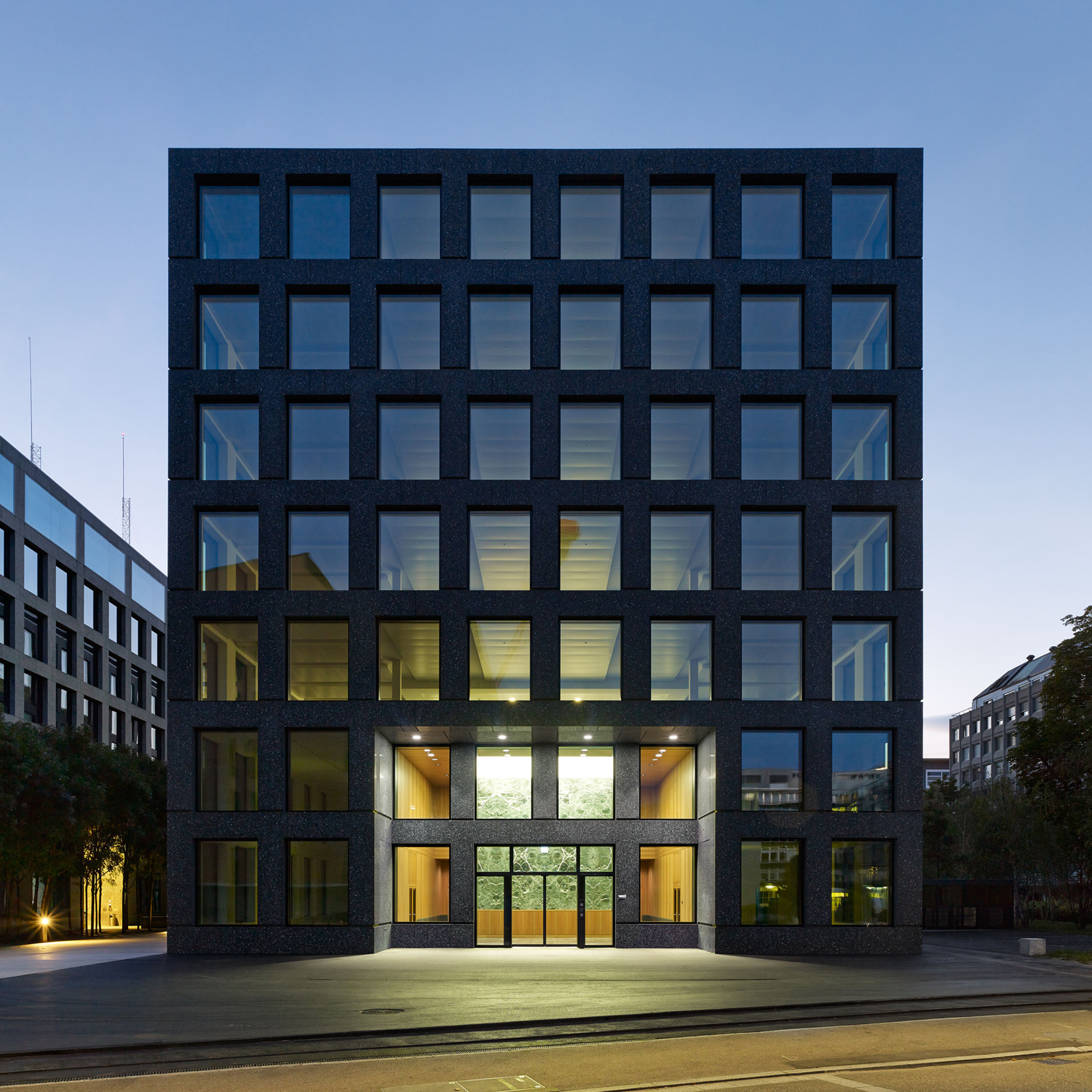 Herostrasse Office Building Max Dudler Archdaily