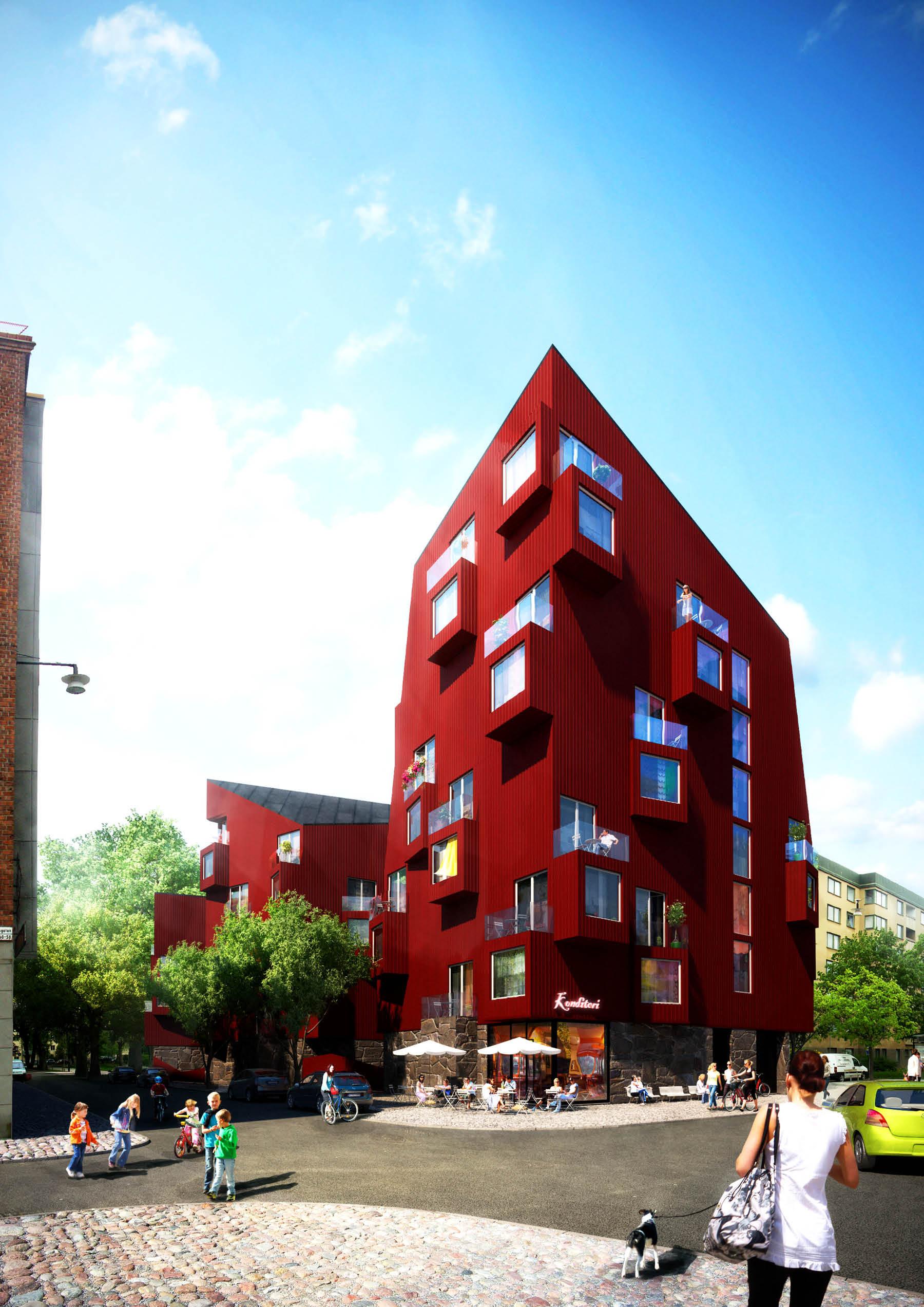 Utopia Arkitekter Reinterprets Stockholms Vernacular
