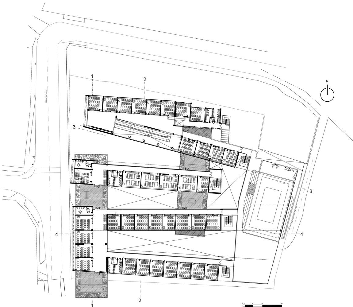 mariano latorre lyceum floor plan [ 1151 x 1000 Pixel ]