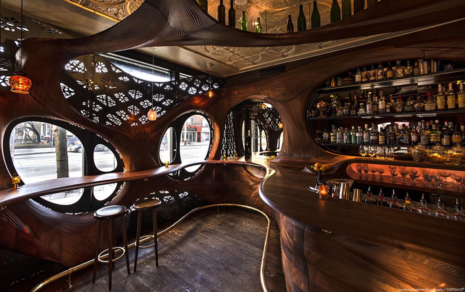 living room mini bar furniture design best arrangement for long narrow gallery of raval / partisans - 4