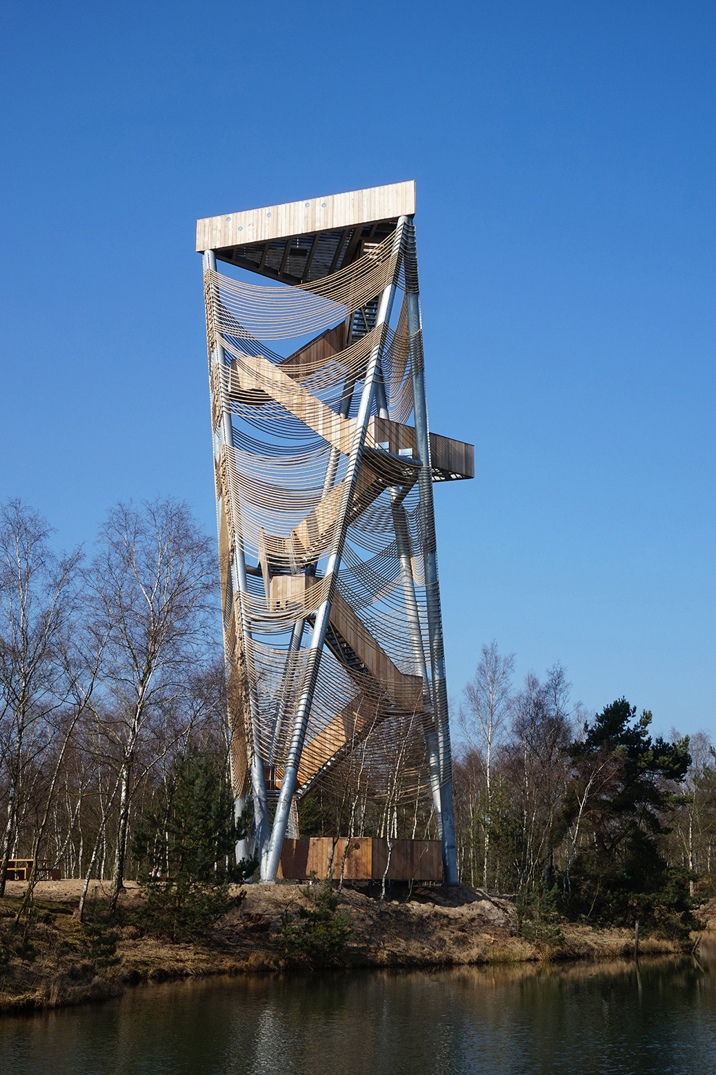 Gallery of Viewing Tower Lommel  Ateliereen Architecten  7