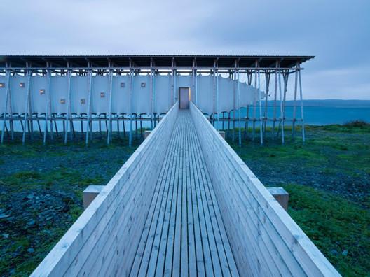 Steilneset Memorial. Image © Andrew Meredith