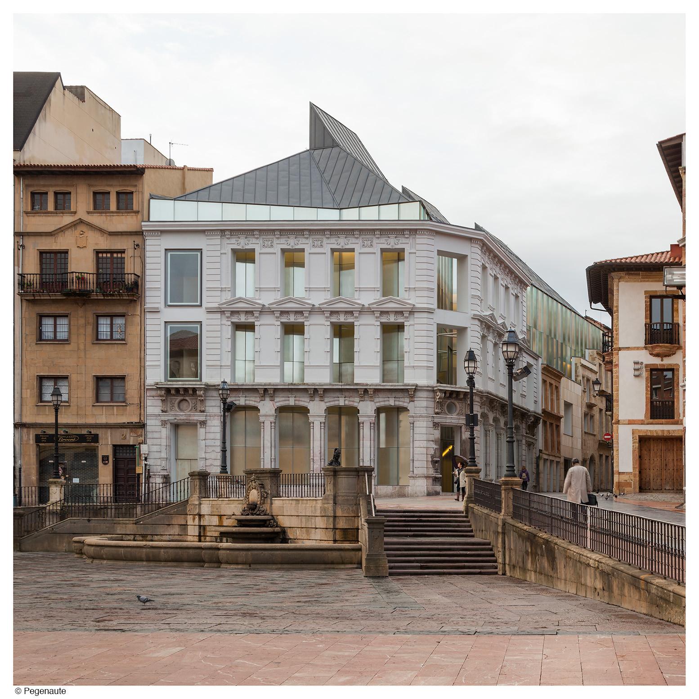Fine Arts Museum Of Asturias Francisco Mangado Archdaily