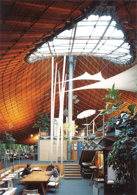 Institute for Lightweight Structures. Image © Atelier Frei Otto Warmbronn