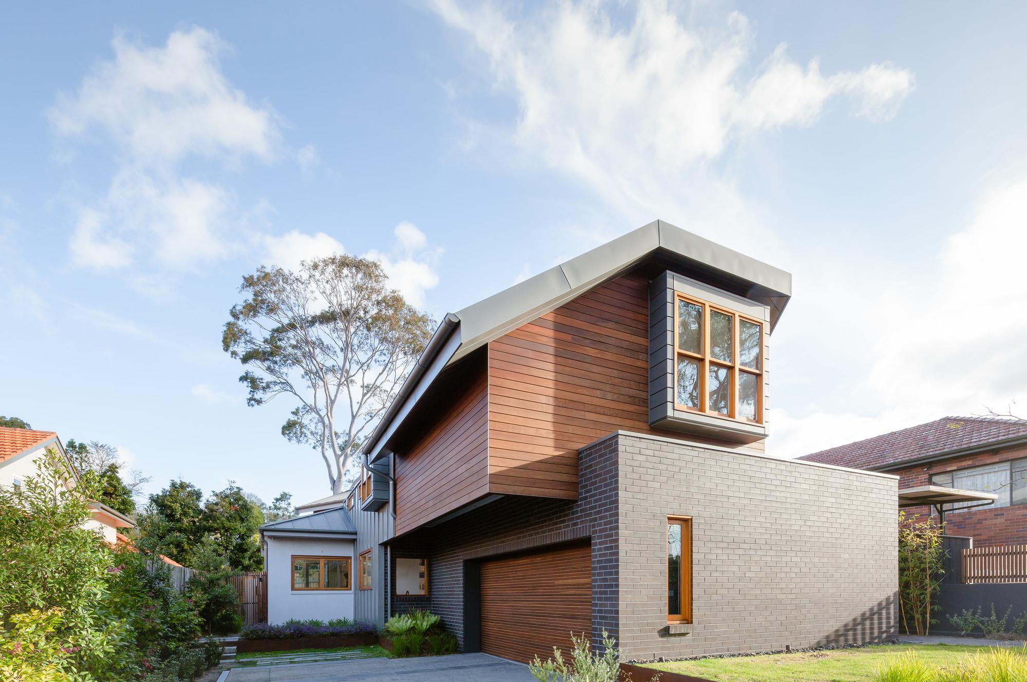 Modern Gable Architecture