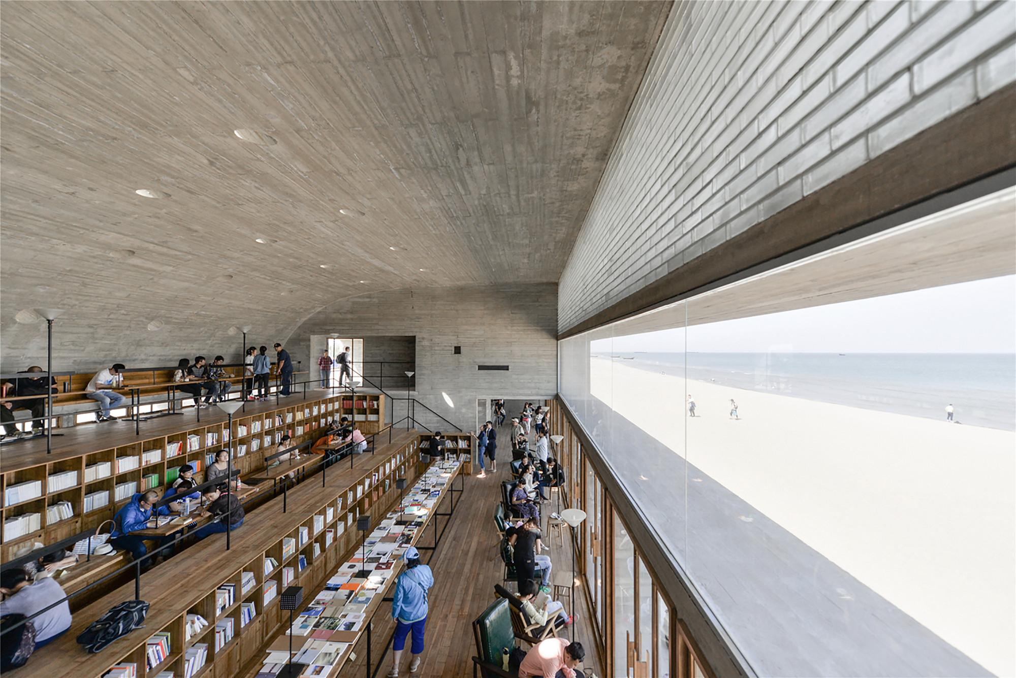 China Seashore Vector Architects Library
